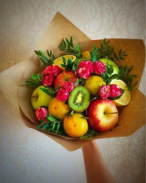букети от плодове fruitynation