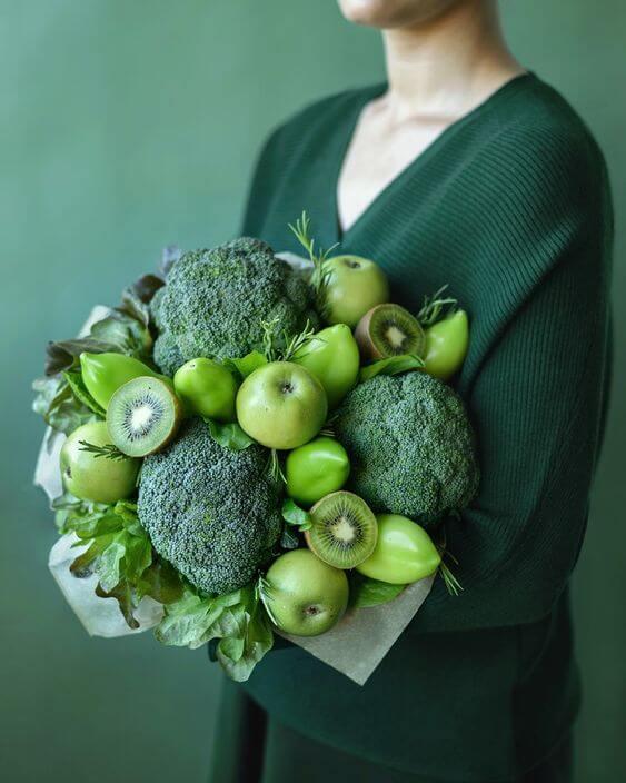 Букет от плодове и зеленчуци