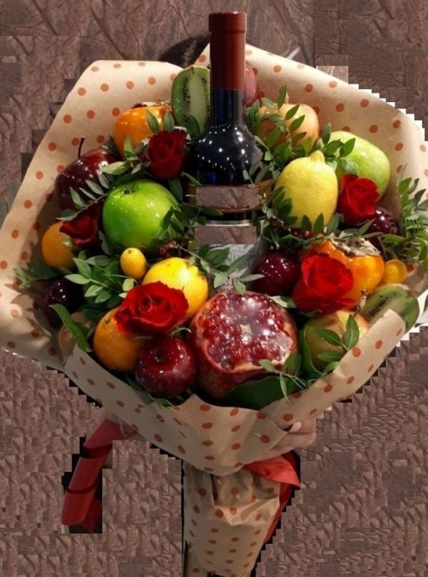 """Букет """"Wine lover"""""""
