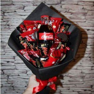 букети от бонбони choko love